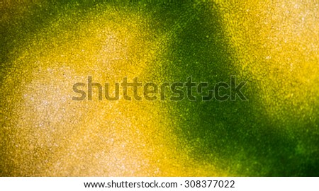 Blurred plant cells under microscope. - stock photo