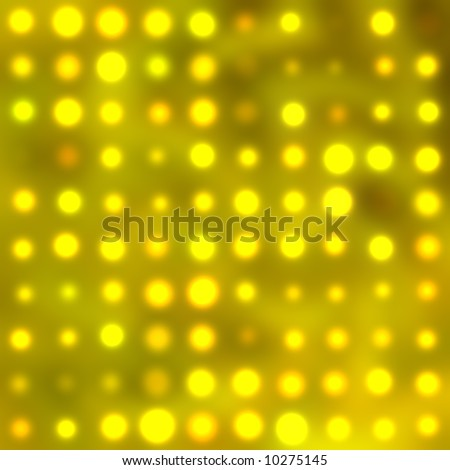 Blurred stage lights - stock photo