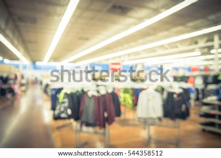 Export clothing store