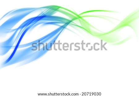 blurry bright background abstraction with coloured lines - stock photo