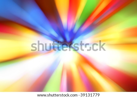 Blurry colorful background