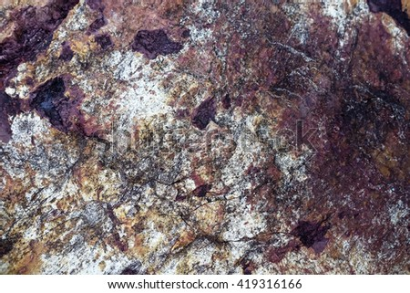 blurry image of natural stone patterned textures background. Silt Stone   - stock photo