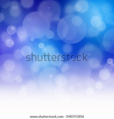 Blurry Lights - stock photo