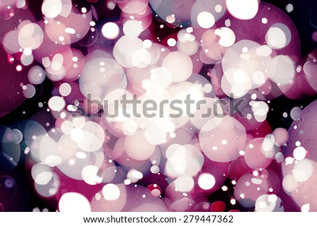 Blurry lights background  - stock photo