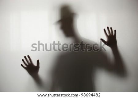 Blurry shadow - stock photo