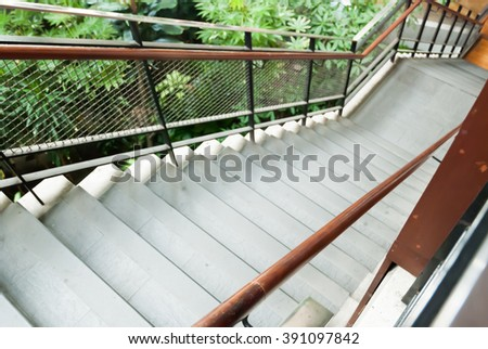 blurry stairs background