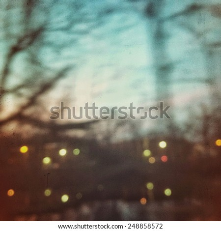 Blurry, textured background in instagram style - stock photo