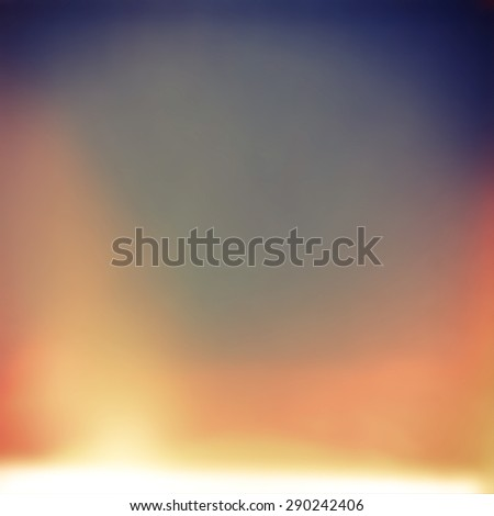 blurry unfocused background with light leaks and grain - stock photo