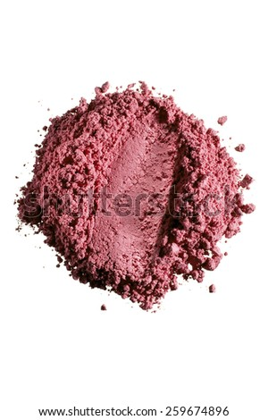 blush powder - stock photo
