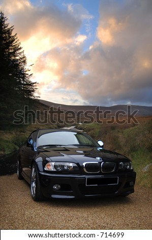 BMW Cabriolet, Glendalough, Co. Wicklow