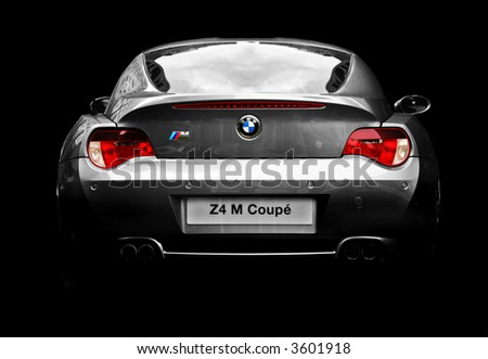 BMW Z4 M Coupe - stock photo