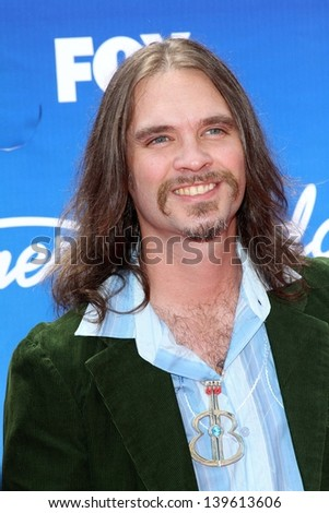 Bo Bice at the American Idol Season 12 Finale Arrivals, Nokia Theater, Los Angeles, CA 05-16-13