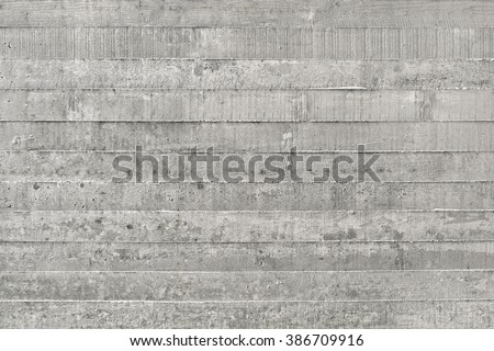 Board Formed Concrete Texture - stock photo