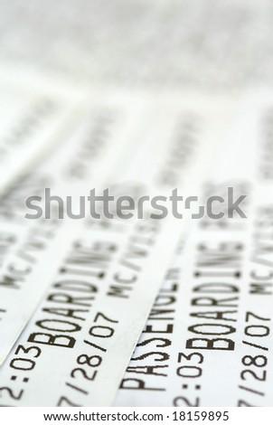Boarding Pass - stock photo