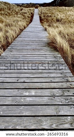 boardwalk 7 - stock photo