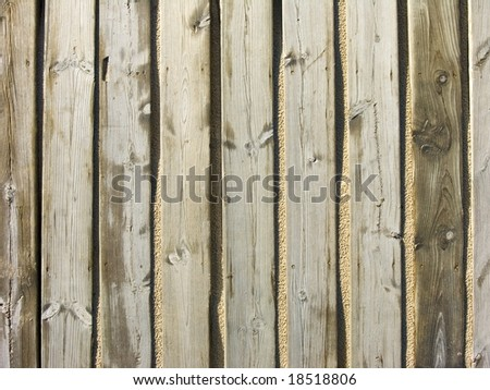 boardwalk on sand - stock photo