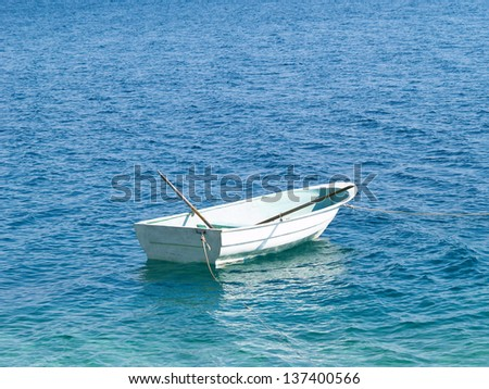 boat in the water 15 - stock photo