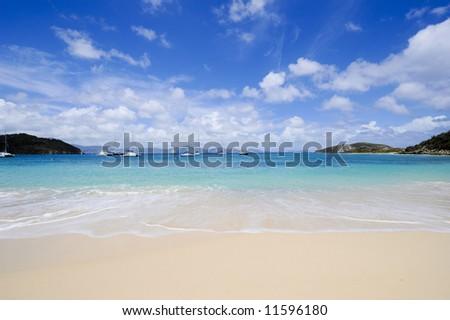 Boating on the Coast - stock photo