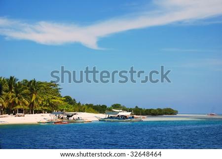 boats at the shore - stock photo