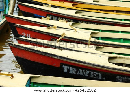 Boats in Color