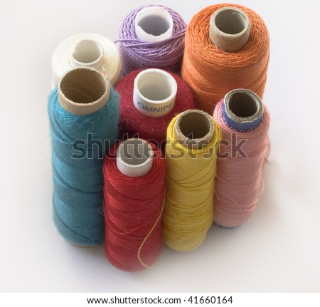 bobbins - stock photo