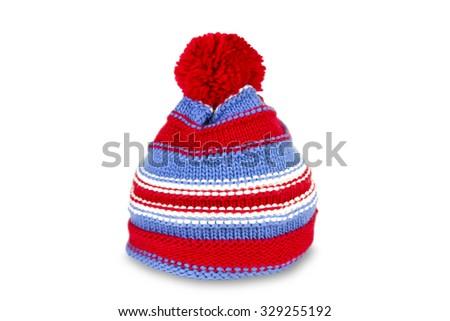 Bobble Cap isolated on white background - stock photo
