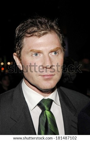 Bobby Flay at TALK RADIO Opening Night on Broadway - ARRIVALS, The Longacre Theatre, New York, NY, March 11, 2007 - stock photo