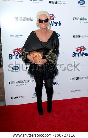 BODHILOS ANGELES - APR 22:  Amanda Eliasch at the 8th Annual BritWeek Launch Party at The British Residence on April 22, 2014 in Los Angeles, CA