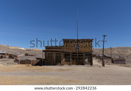 bodie ca usa march 2015 abandoned wooden rustic hotel in bodie - Rustic Hotel 2015