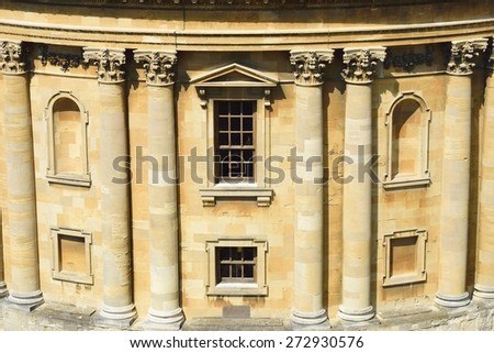 Bodleian library front - stock photo