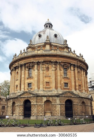 Bodleian Library Radcliffe Camera - stock photo