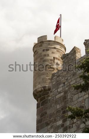 Bodrum Castle Turkey - stock photo