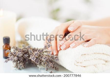 Body care - stock photo