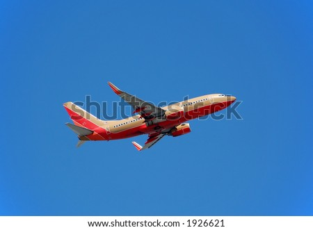Boeing 737-700 passenger jet - stock photo