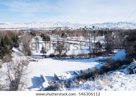 Boise/United States: 11th December 2016- Boise is one of the oldest town in Idaho.  It's well known for the beautiful scenery.