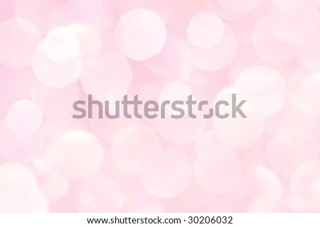 bokeh background in soft pink color