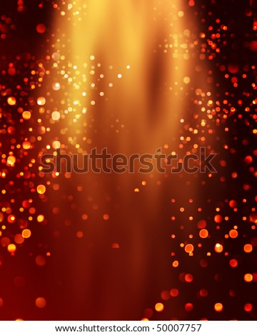 Bokeh background light effect illustration - stock photo