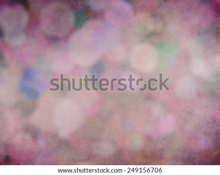 Bokeh Background Texture in Purple Mauve Pink   - stock photo