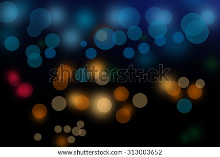 bokeh background wall abstract blue light texture color