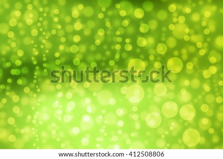 Bokeh Backgrounds color green