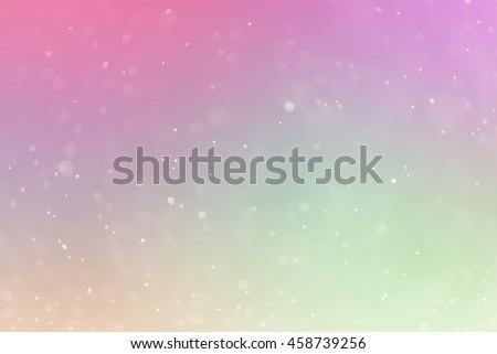 bokeh Backgrounds color pastel - stock photo