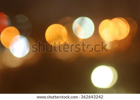 Bokeh blured background stock photo - stock photo