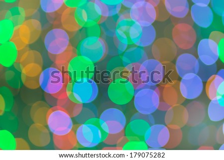 Bokeh, It's out of focus but It's beautiful and colorful picture. And it can Fill up your life with the color of life.