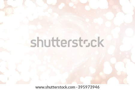 Bokeh light beige abstract background.
