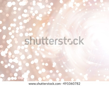 Bokeh light beige abstract background. illustration digital.