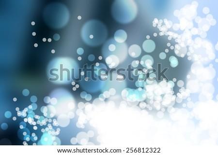 Bokeh lights background - stock photo