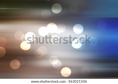 bokeh on blue blurred abstract background, night blue bokeh blurred background - stock photo