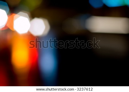 Bokeh. Out of Focus lights. - stock photo