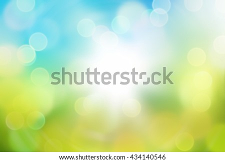 bokeh summer spring green nature flower eco color background