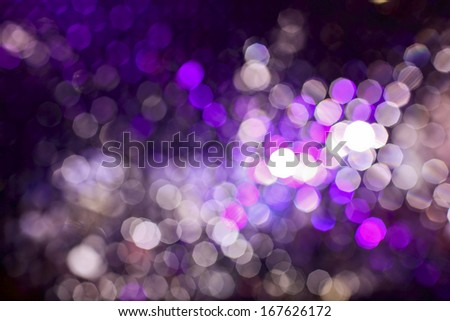 boken colorful lights for celebrate a holiday - stock photo